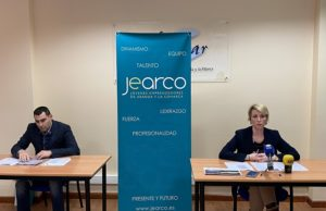 Presentación a cargo de Cristina Martín, Presidenta de JEARCO y Jorge Bermejo, responsable formación Pre-Empresas
